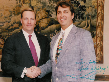 H Ross Perot Jr. with John Thomas
